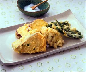 さわらと野菜の天ぷら