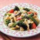 春野菜のパスタ