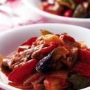 豚肉と夏野菜のトマト煮