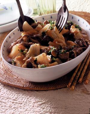 キムチ肉豆腐
