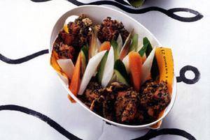鶏もも肉のごま風味から揚げ