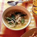 オクラと卵のスープ