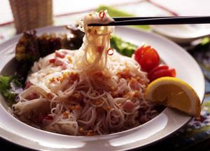 タイ風さっぱり麺