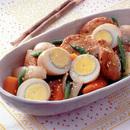 卵とさつま揚げのうま煮