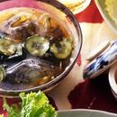 きゅうりとわかめの韓国風スープ