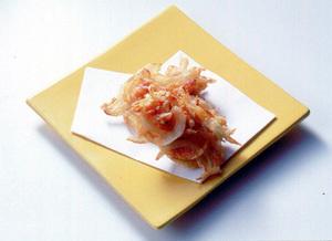 玉ねぎ+桜えびのかき揚げ