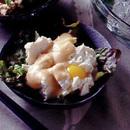 マヨネーズと豆板醤風味の冷ややっこ