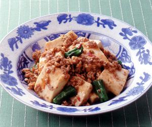 豆腐のピリ辛みそ炒め
