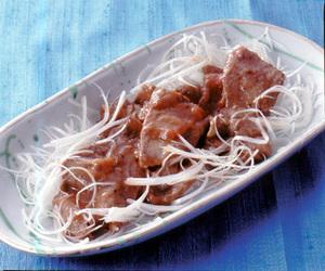 牛タンの梅肉焼き