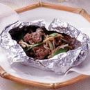 牛肉のホイル包み揚げ