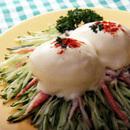 ゆで卵ときゅうりのサラダ