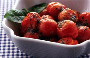 ミニトマトのロースト
