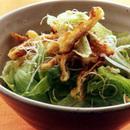 油揚げとレタスのサラダ
