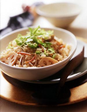 根菜の五目ご飯