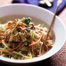 焼き肉サラダご飯