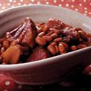大豆と豚バラ肉の中国風煮
