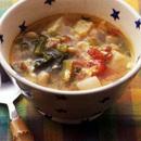 具だくさんのかきたまスープ