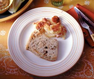 白身魚のマリネソテー