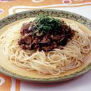 中華風ミートソーススパゲティ
