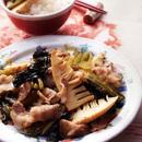 豚肉と高菜の炒めもの