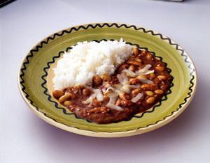 ツナと大豆のチーズカレー