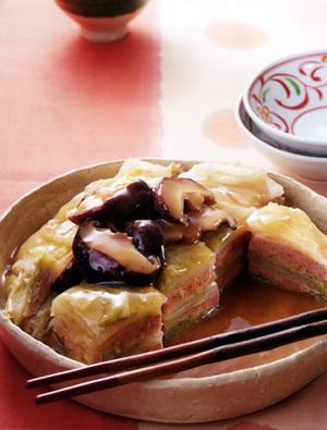 ひき肉と白菜の重ね煮