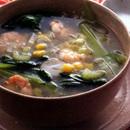 えびの具だくさんスープ