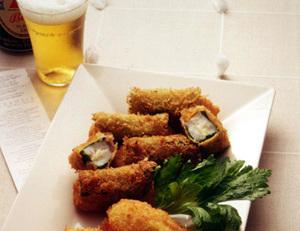 白身魚のチーズ巻きフライ