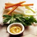 野菜スティックのカレーマヨネーズソース