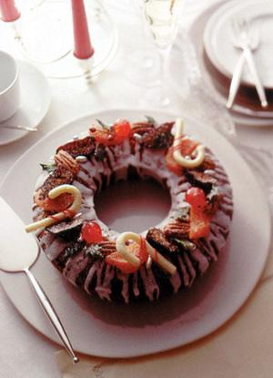 クリスマスのフルーツケーキ