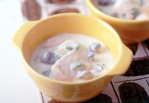 鮭のチーズクリームシチュー