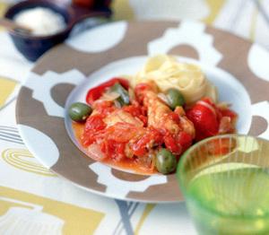 チキンのトマトシチュー