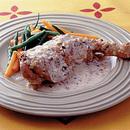 鶏肉の白ワイン煮