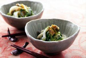 いかときゅうりの中国風サラダ
