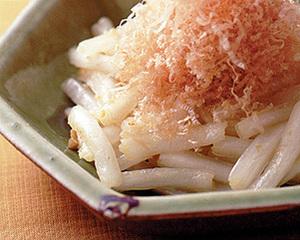 白菜のしんのゆずこしょう風味サラダ
