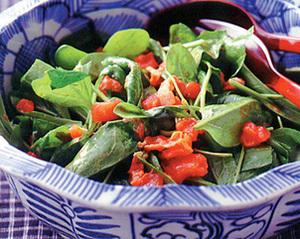 ほうれん草サラダ