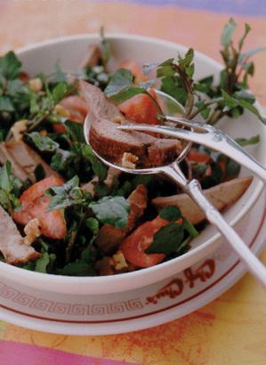 煮豚とクレソンのサラダ