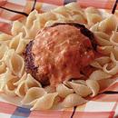 トマトクリームソース ハンバーグ