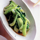 青梗菜のエスニック炒め