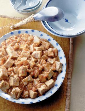 えびの麻婆豆腐風