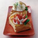 フルーツクリームパイ