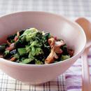 豚肉と菜の花の蒸し煮