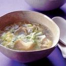 キャベツとザーサイのスープ