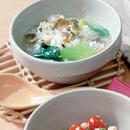 あさりの中国風雑炊