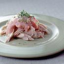 鶏ささ身のタラモソース