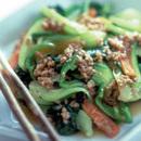 「和風味」の素と野菜の炒めもの