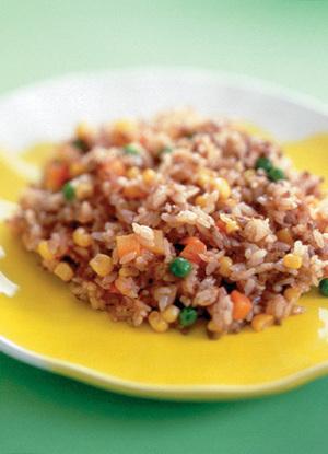 「洋風味」の素の炒めご飯