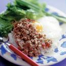 「ピリ辛味」の素のせご飯