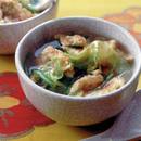 卵焼き入り中華風スープ