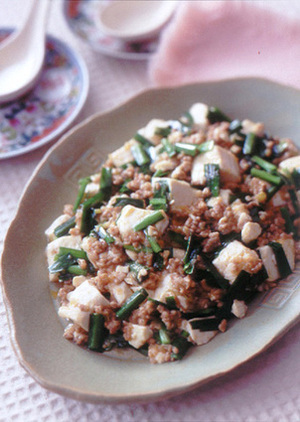 ごま味麻婆豆腐